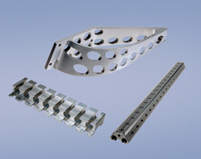 Milled parts in high precision